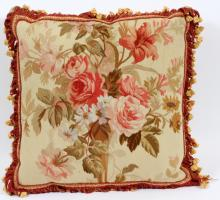 AUBUSSON TAPESTRY PILLOW W 17