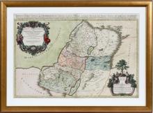 SERENISSIMO PRINCIPI DELPHINO HAND COLORED MAP