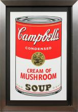 ANDY WARHOL POSTER CAMPBELL'S CREAM OF MUSHROOM