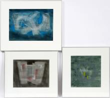 ABSTRACT PASTEL & PENCIL WORKS