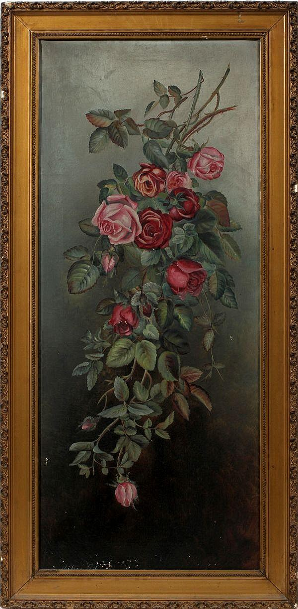 A. MILLER, OIL ON CANVAS, 1894, 36