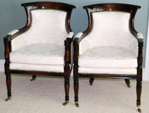 Interior Crafts Inc Chicago Ill Bridge Chairs