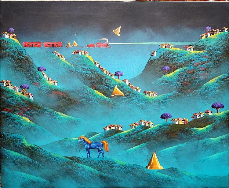 Endara Crow Paintings Sale