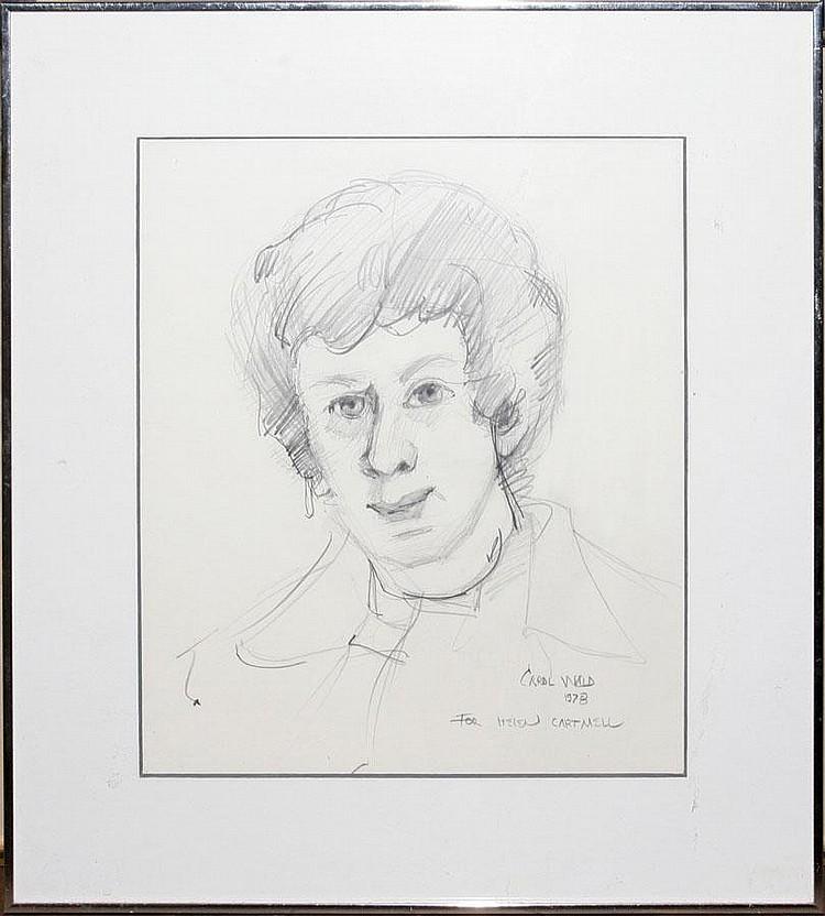 CAROL WALD [US B. 1935], PENCIL DRAWING, 1978, 11