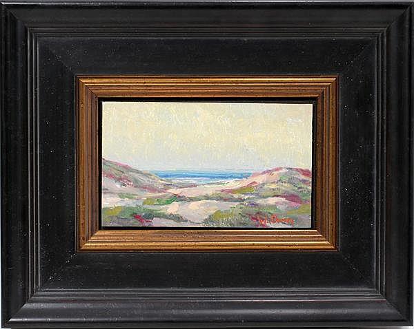 WILLIAM DORSEY [AMERICAN, B. 1942], OIL ON CANVAS