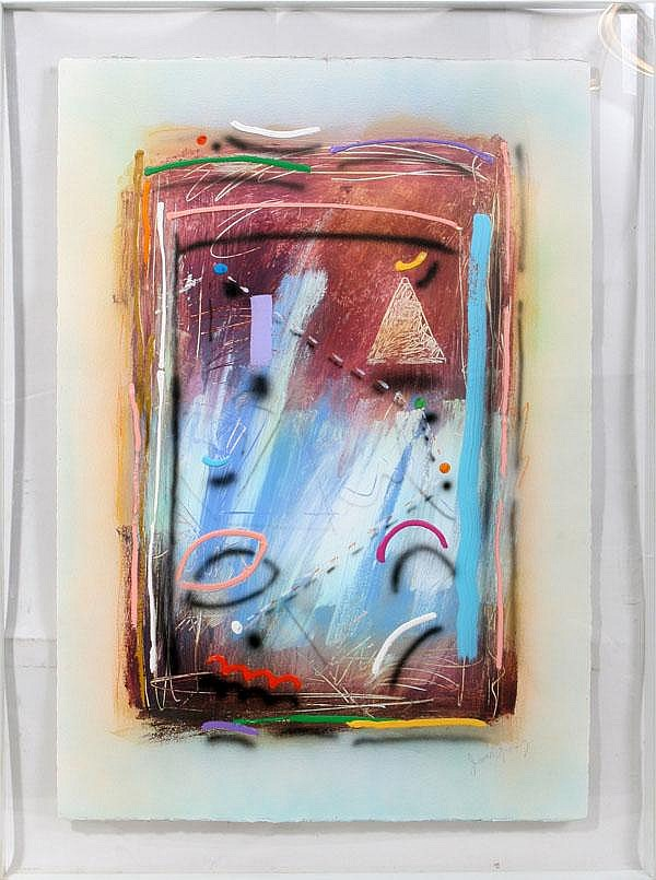 JAMES GROODY, MIXED MEDIA ON PAPER, 41