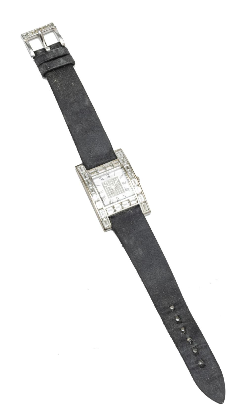 CHOPARD WHITE GOLD, DIAMOND, AND MOTHER OF PEARL LADIES WRIST WATCH
