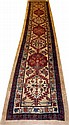 PERSIAN WOOL RUNNER, C. 1890-1900, 16' 0