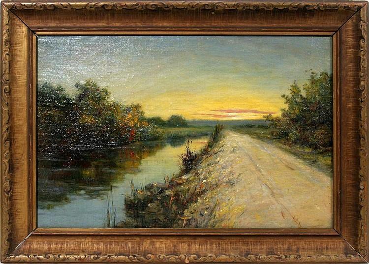 LOUISE AMELIA WOODWARD [AMERICAN 1862-1937], OIL