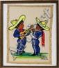BRENNA HEANA, WEAVING, MEXICAN CHILDREN PLAYING MUSIC 12