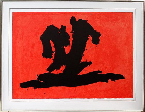 ROBERT MOTHERWELL [AMERICAN 1915-1991] COLOR