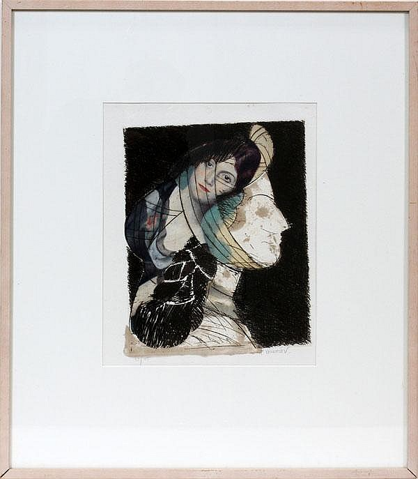 MANOLO VALDES, ETCHING, 15