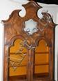 DUTCH BURL WALNUT SECRETARY DESK, CIRCA 1800, H