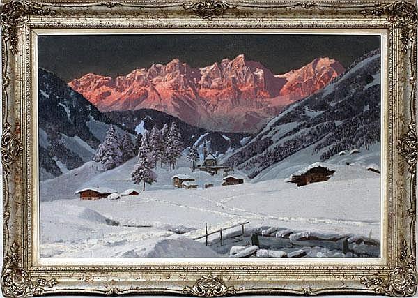 ALOIS ARNEGGER [AUSTRIAN 1879-1967], OIL ON