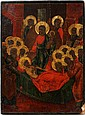 RUSSIAN ICON OF THE DORMITION OF THE VIRGIN, C. 1850, 18
