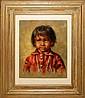 WILLIAM (BILL) HAMPTON (AMERICAN 1925-1977), OIL ON ARTIST BOARD, 15