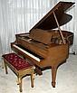 STEINWAY MAHOGANY BABY GRAND PIANO, C. 1934