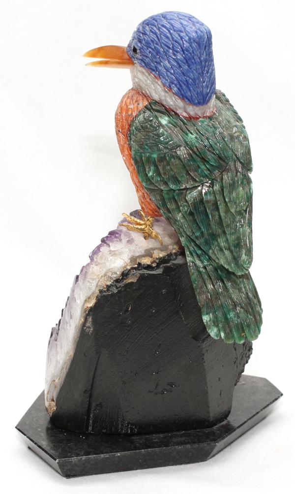 Amsterdam sauer carved stone bird sculpture