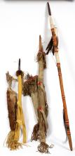 GROUP OF NATIVE AMERICAN WEAPONS