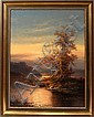 LUDWIG MUNNINGER, OIL ON CANVAS, 32