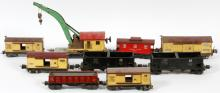 LIONEL O27 GAUGE PRE-WAR FREIGHT CARS C1935-41