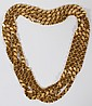 14 KT YELLOW GOLD NECK CHAIN, L 80