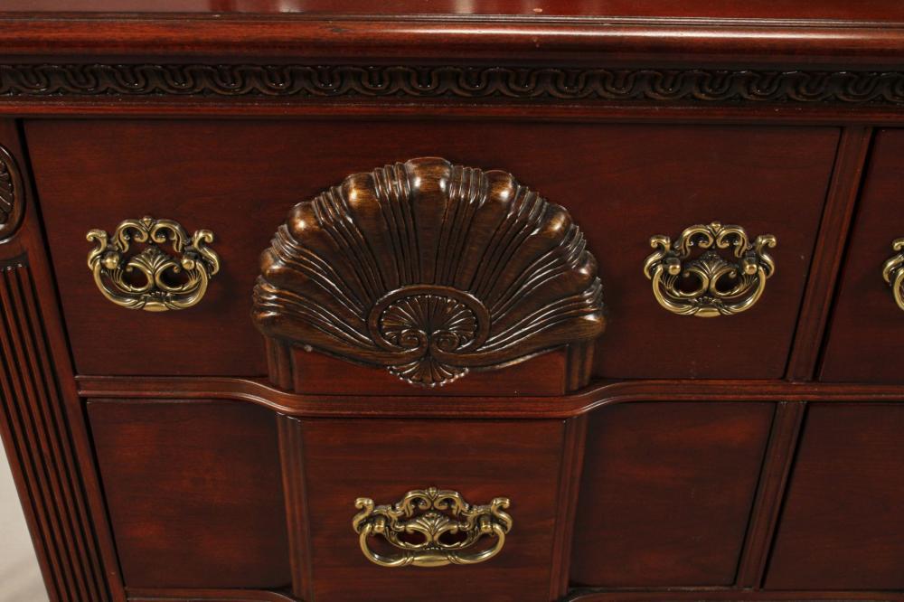 Kathy Ireland Mahogany Carved Bedroom, Kathy Ireland Bedroom Furniture
