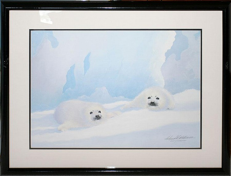 RICHARD WILLIAMS, SERIGRAPH, SIGNED, 203/395 24