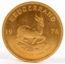 SOUTH AFRICAN GOLD KRUGERAND, 1976