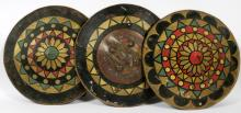 A GROUP OF PROP SHIELDS FROM MGM STUDIOS