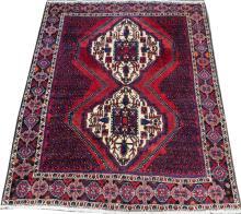PERSIAN SIRJAN WOOL CARPET C.1980-90