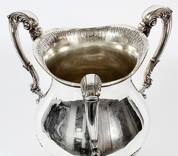 MARCUS & CO. STERLING PRESENTATION LOVING CUP