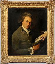 JOHN HAMILTON MORTIMER (ENGLISH, 1740-1779) OIL ON CANVAS, H 30