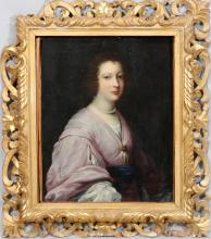 OLD MASTER OIL ON CANVAS PORTRAIT OF LADY