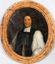 OLD MASTER PORTRAIT OF RECTOR OF THE CLOTH
