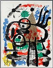 JOAN MIRO LITHOGRAPH ON PAPER