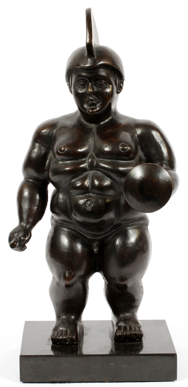 AFTER BOTERO BRONZE SCULPTURE