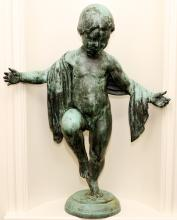 FLORENCE WYLE BRONZE SCULPTURE EARLY 20TH C.