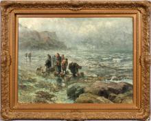 ROBERT HOPKIN OIL ON CANVAS