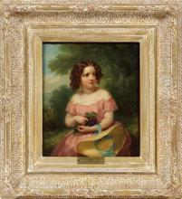 J. A. DAK ENGLISH OIL ON CANVAS 1860