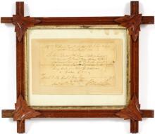 GEORGE WASHINGTON SIGNED DOCUMENT 25 JANUARY 1774