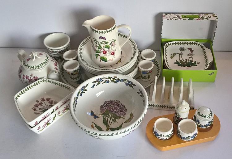 Portmeirion Morning Tea Service 'Botanic Garden' c