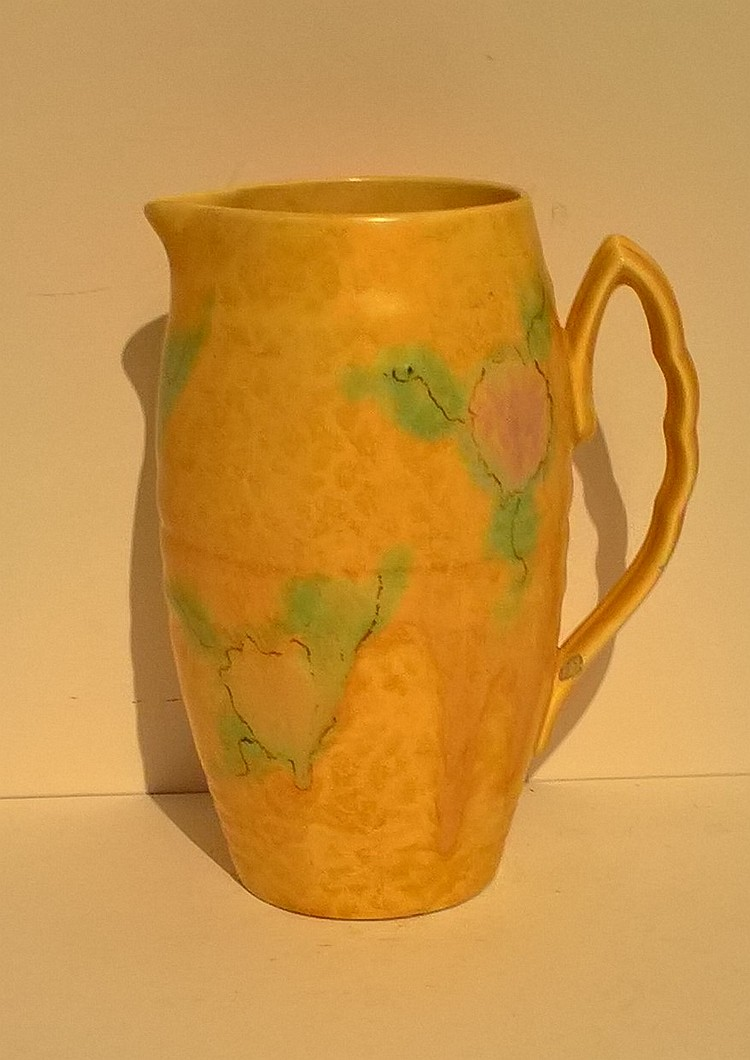 BESWICK Slipware Jug 1176, Festival by Albert Hall