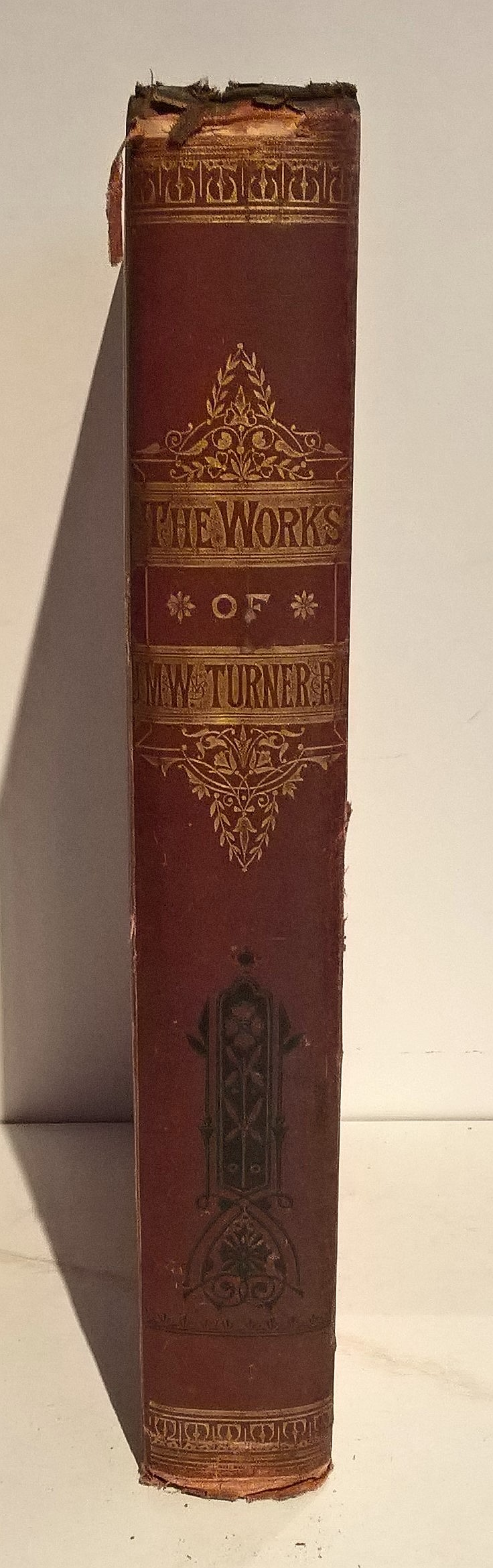 THE WORKS OF JWW TURNER, RA With a Biographical Sk