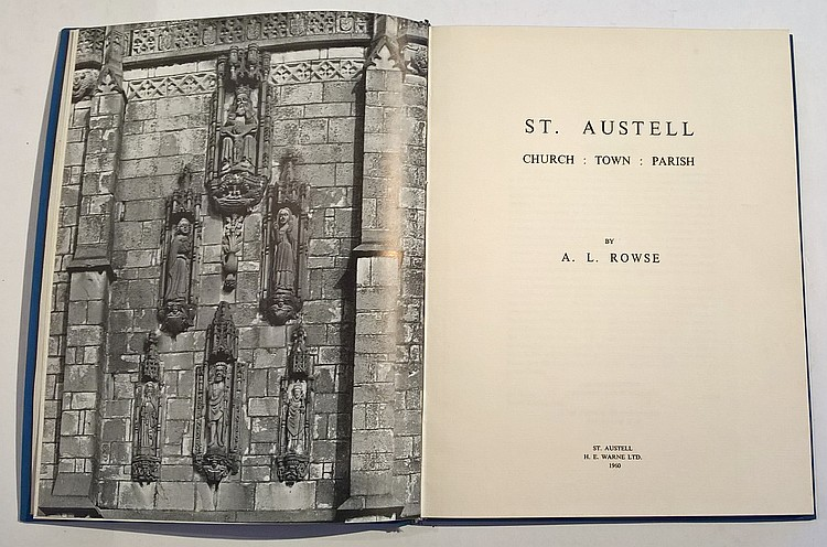 H.E.Warne Ltd., St.Austell, 1960. Hardcover. Book
