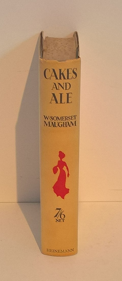CAKES AND ALE, 1930, First Edition, W. Somerset Ma