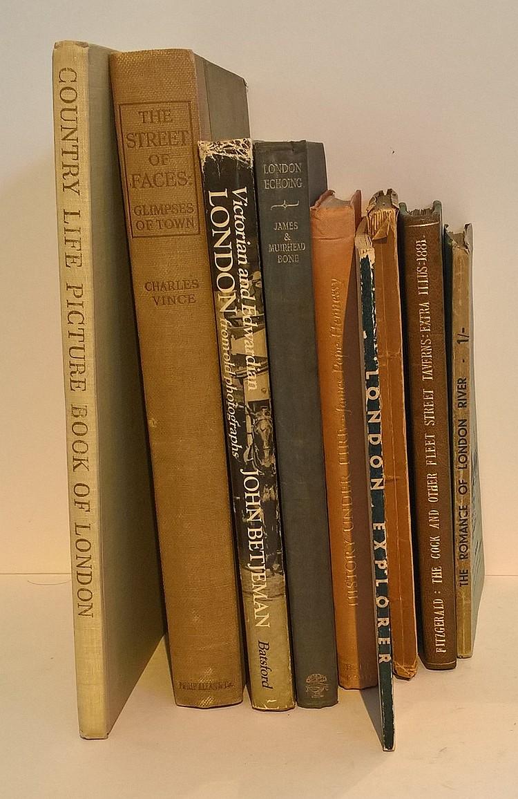 9 books of Interest London, THE ROMANCE OF LONDON