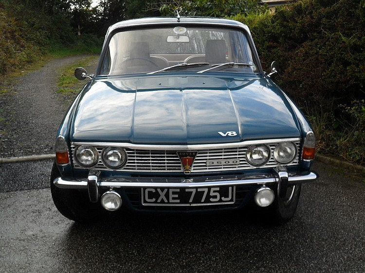 ROVER 3500 Automatic Saloon; First Registered 16th