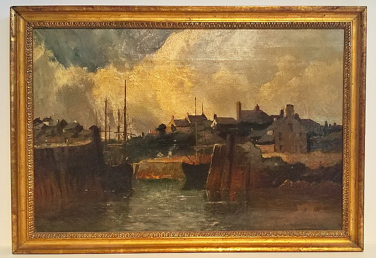 WILLIAM MEREDITH (19th C), oil on canvas, in artis