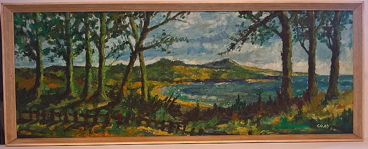 Oil on Board signed GRAY '64, believed to be a St